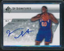 2004-05 Upper Deck SP Authentic Signature Auto (NY)  Mike Sweetney