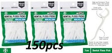 150pcs 1st CARE Dental Flosser Floss Picks Clean Healthy Gums Brand New 3 x 50pc