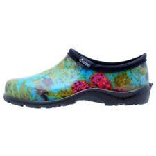 Sloggers  Women's Rain and Garden Shoe wMisummer Blue Print - Wo's size10 -Style