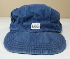 VTG LEE Hat Sanforized Railroad Engineer Cap Union Made 60's 70's Work Barn