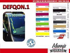 DEFQON.1 No Guts No Glory XL 65x505mm Aufkleber, Sticker, Autocollant, Étiquette