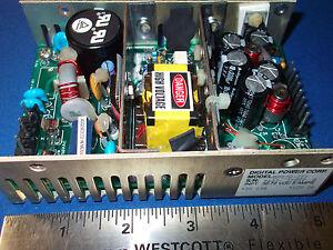 DPS70-221 DIGITAL POWER 36-72VDC 5A +5V 10A +12V 1A OPEN FRAME POWER SUPPLY NEW