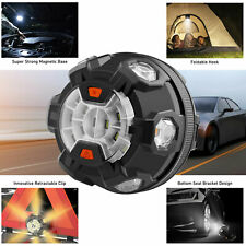 Safety Emergency Warning Disc Light Magnet Base LED Camping Hiking Tent Lamp US