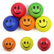 6.3cm Smile Face Anti Stress Reliever Ball ADHD Autism Mood Toy Squeeze Relief