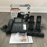 Panasonic KX-TG6672B DECT 6.0 Plus Digital Cordless Phone Answering System