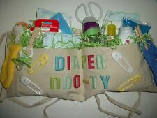 NEUTRAL DIAPER DOO-TY TOOL BELT DAD BROTHER SISTER GRANDPA  BABY SHOWER GAG GIFT