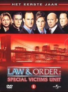 Law & Order Special Victims Unit - Seizoen 1 6-DVD nieuwe box set in seal
