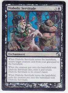 Diaolic Servitude - FOIL - 22/30 - Magic The Gathering-MTG- Carte-VO