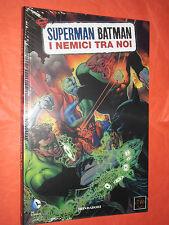 SUPERMAN BATMAN -MONDADORI- N°5- nemici tra noi -SIGILLATO -EDIZIONI-LION