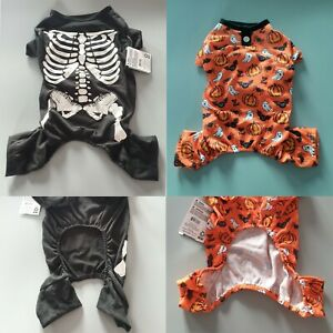 Halloween Dog All In One Pyjamas Spooky PJs Fancy Dress Outfit Party Costume