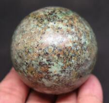 49mm 6OZ NATURAL Africa TURQUOISE Jasper Crystal Sphere Ball