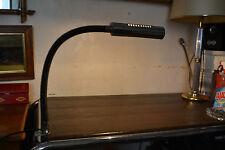 VINTAGE ANNEES 70 - Lampe de bureau flexible étau en acier chromé - Atelier Loft