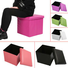 Home utility storage box with sitting stool (assorted)