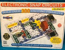 Elenco Electronic Snap Circuits SC-300 - Build over 300 projects - Complete Set.