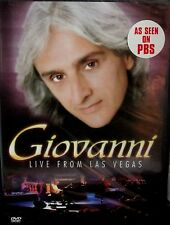 Giovanni - Live From Las Vegas NEW! DVD, AS SEEN PBS, CONCERT ,PIANO ,23 SONGS