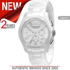 Emporio Armani Ceramic Ladies Watch AR1403│White Dial│Ceramic Strap