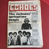 Black Echoes 11 Nov '78 Jacksons cov, Fela Kuti, Disco Date insert, Celi Bee...