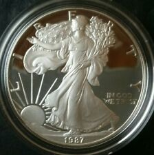 1987 S Proof $1 American Silver Eagle Dollar