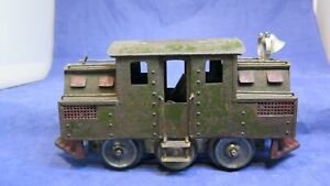 Lionel Early Prewar Standard Gauge Square Cab 1910 Locomotive! RARE! CT