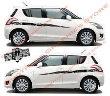 Graphics Racing Stripes Decals Stickers for SUZUKI SWIFT 2008-2019
