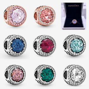 ALE S925 Genuine Silver Pandora Sparkling Charm & With Gift Box