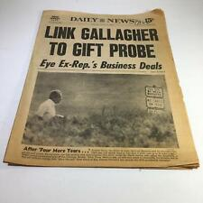 NY Daily News:10/27/76 Link Gallegher 2 Gift Probe Ex-Rep's Bus. Deals R. Nixon
