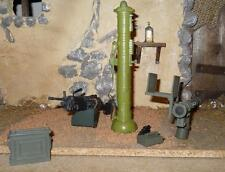1/6 Scale Diorama Accessory - MOdern Weapons Set Stinger AT4 and SAW loose