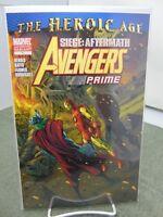 Avengers Prime #1 2nd Print Variant Cover Marvel Comics vf/nm CB2200