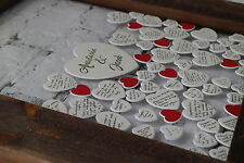 Wedding Guestbook Drop Heart Wooden Frame by Frame Company
