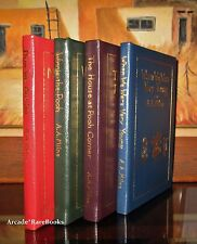 Milne, A. A. WINNIE THE POOH, THE HOUSE AT POOH CORNER 4 Vol Easton Press 1st