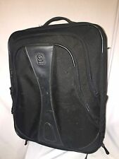 TUMI TECH Black Rolling Suitcase Luggage Carry On Bag Travel 21x17x8 Wheeled