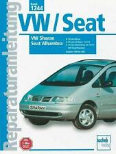 Reparaturanleitung 1244 VW Sharan und Seat Alhambra V6 12V 20V Syncro 4x4 Diesel