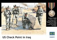 Master Box 1/35 US Check Point in Iraq # 3591