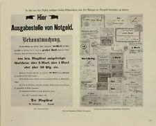 1916 Prima Guerra Mondiale WW1 Stampa Est Prussia Dal Raccolta Wintel Königsberg