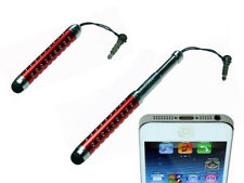 Touch Pen Eingabe Stift Rot für iPhone HTC Samsung iPad ipod Apple Tablet Tab
