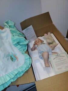 Fresh From the Patch NEW Baby Full Body Porcelain Doll Ashton Drake