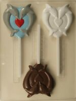 DOLPHINS FORMING HEART CHOCOLATE LOLLIPOP CANDY MOLD FAVOR FAVORS VALENTINE