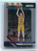 2018-19 Panini Moritz Wagner SILVER Prizm Rc Rookie Los Angeles Lakers