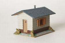 Casa con Base Legno H0 Casetta Giardino Capannone Holzdach Presa 7x5 Cm (76607)