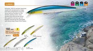 Sumiko 160 F RaptureTrabucco Fishing Lure,DAIWA,Sea Bass,Barracuda,Bluefish