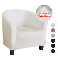 Elastic Sofa Cover Armchair Seat Cover Washable Tub Chair Slipcovers Protectors