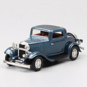 1 43 Scale 1932 Ford Model B three window Coupe  die cast model car toys Classic