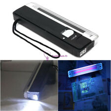 New 4W Mini Portable UV Ultra Violet Black Light Lamp Torch BANK NOTES Check