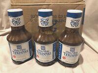 SOY VAY, SAUCE VERI VERI TERIYAKI, Marinade & Sauce 21 OZ, (3 Bottles) NEW