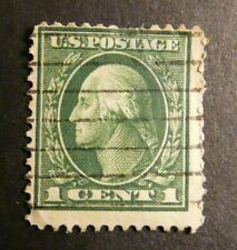 1922 George Washington 1c Stamp, One Cent, USA Postage, 11 perf
