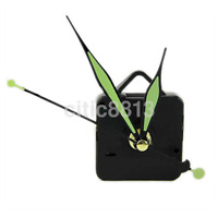 NEW Silent Quartz Wall Clock Spindle Movement Mechanism Part DIY Repair Green au