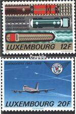 Lussemburgo 1194-1195 (completa Edizione) nuovo linguellato 1988 Trasporti