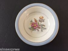 "Lamberton Hawthorne China Blue Band Floral Spray 5-3/8"" FRUIT DESSERT SAUCE BOWL"