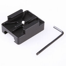 CNC Aluminum 20mm Picatinny Mount Center Rail Side for GoPro Hero 2/3/4 Camera
