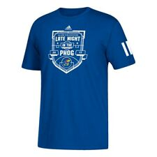 "Kansas Jayhawks NCAA Adidas ""Late Night In the Phog 2017"" Men's Blue T-Shirt"